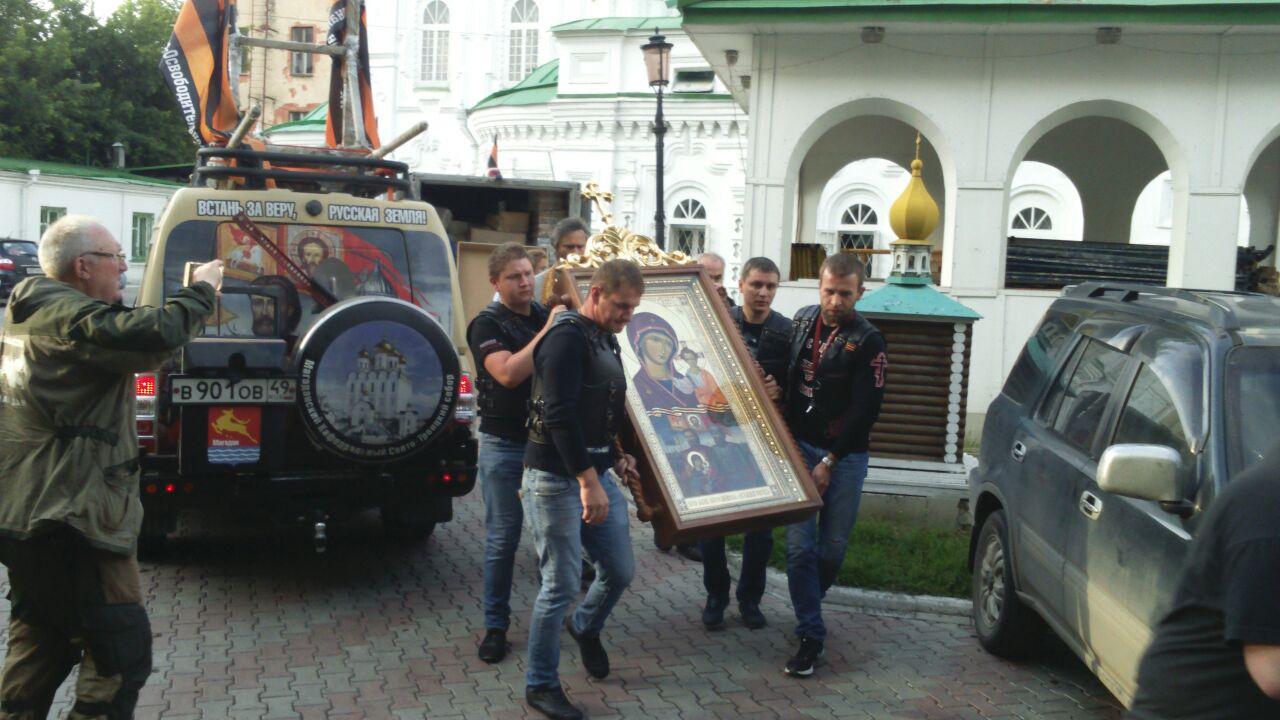 7 июля Всероссийский автопробег «Большая Россия» в Новосибирске (04.07.17)