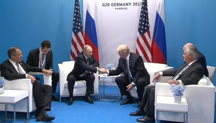 Андрей Бабицкий: «Путин и Трамп. Беседа с рукопожатиями, которая войдет в историю» (09.07.17)