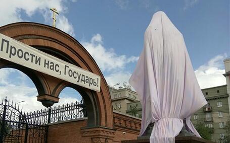 Континент Сибирь: «Новосибирская метрополия РПЦ заявила, что согласовывала установку памятника Николаю II» (22.08.17)