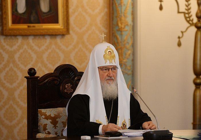 Патриарх Кирилл: «Художественный вымысел и ложь —  это разные вещи» (13.10.17)