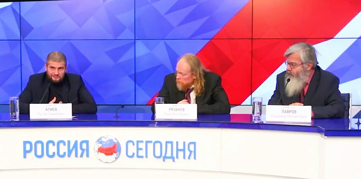 Сергей Алиев: «Пресс-конференция посвященная фильму «Оболганный государь» (05.12.17)