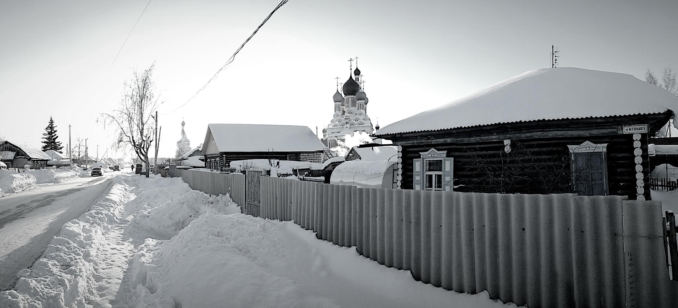 Преображенский кафедральный собор Бердска (21.01.18)