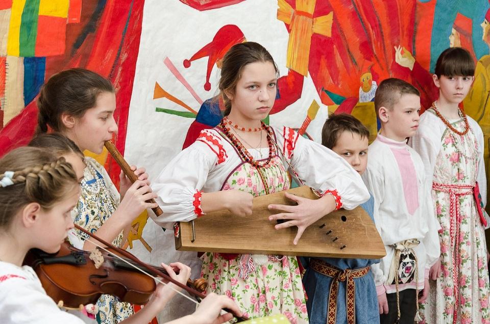 Бердск. Семейный коллектив «Светлица» на Сретенье (15.02.18)