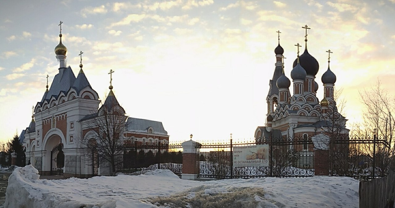 #ФотоДняРусскоеПоле Преображенский кафедральный собор Бердска