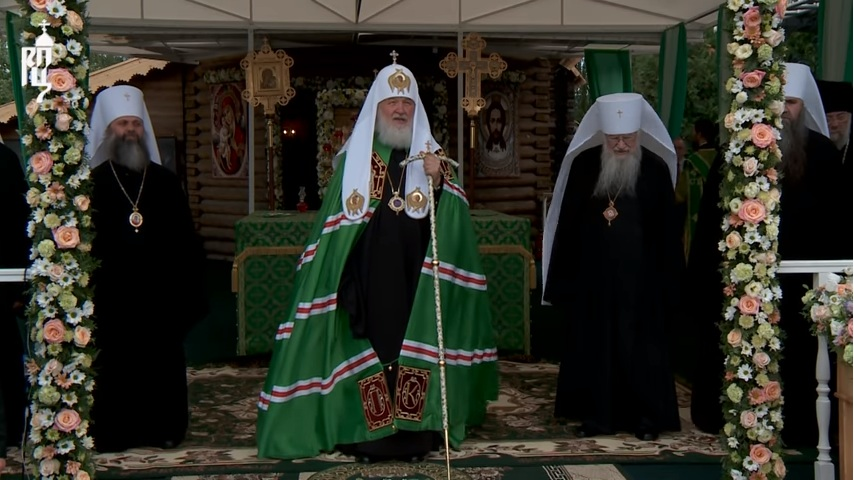 Патриарх Кирилл: «Проповедь в день памяти святых благоверных князей Петра и Февронии» (08.07.18)