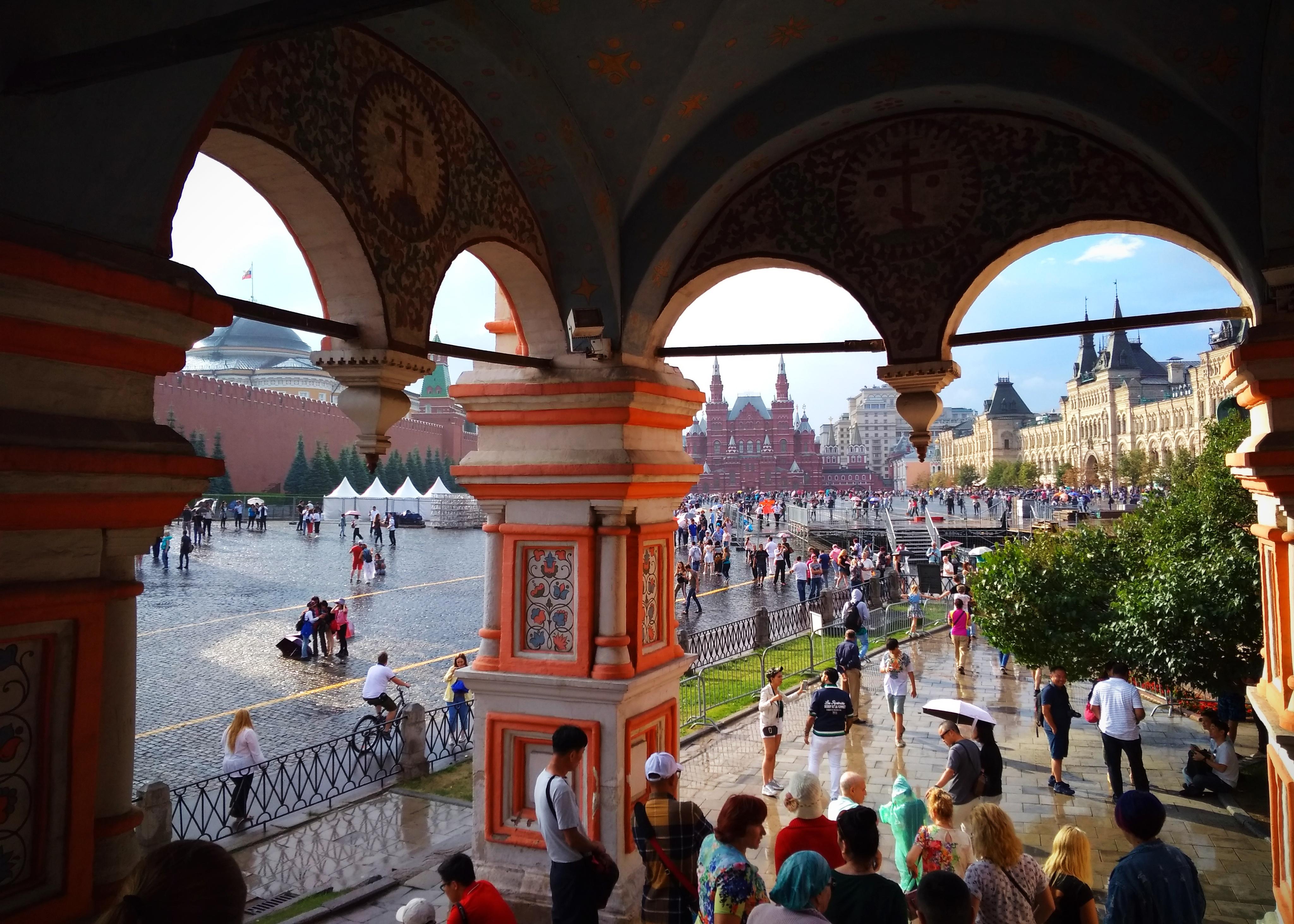 #ФотоДняРусскоеПоле «Москва. Красная площадь. После дождя» (22.07.18)