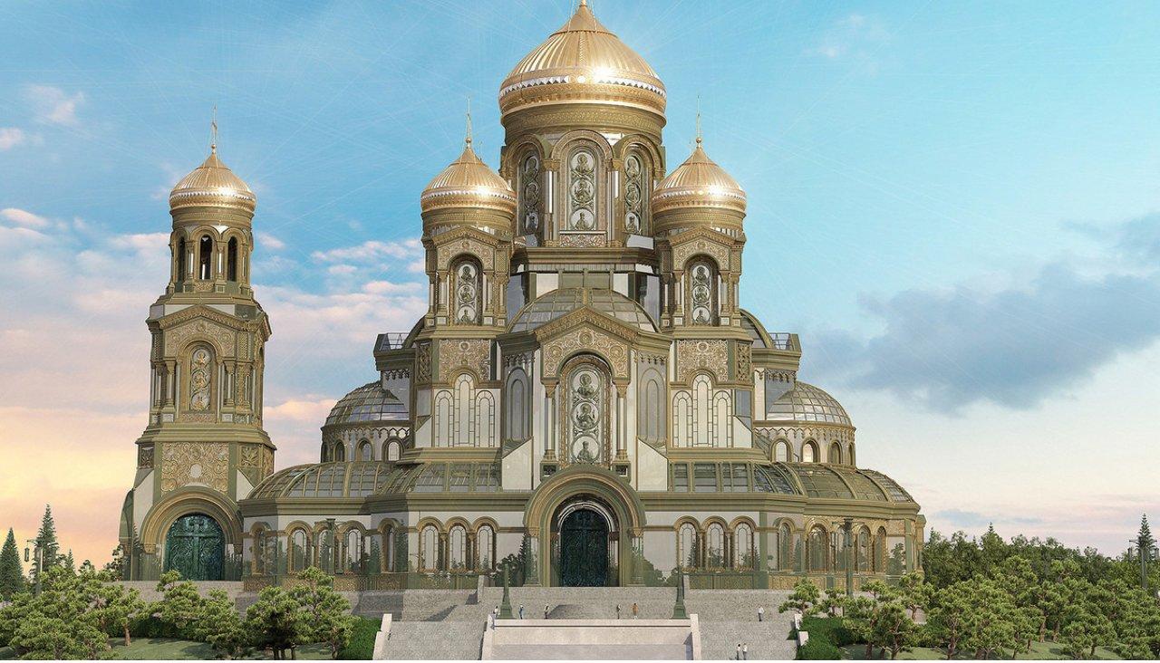 Победа.ру: «В парке «Патриот» будет построен главный храм Вооруженных сил России» (05.09.18)