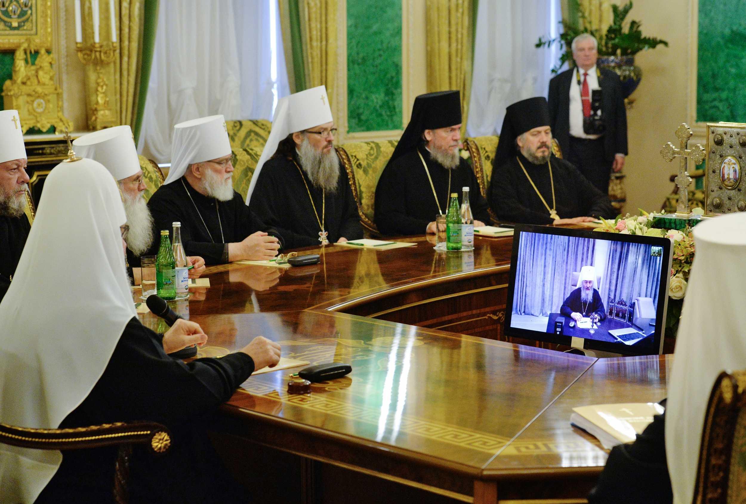 Патриарх Кирилл: «Происходящее на Украине является зеркальным отображением того что имело место в начале 20 века в России» (14.09.18)
