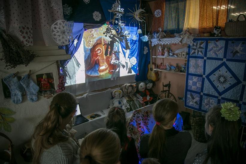 #РусскоеПолеФотоДня Рождественская экскурсия в Доме Русских Сказок (22.12.18)