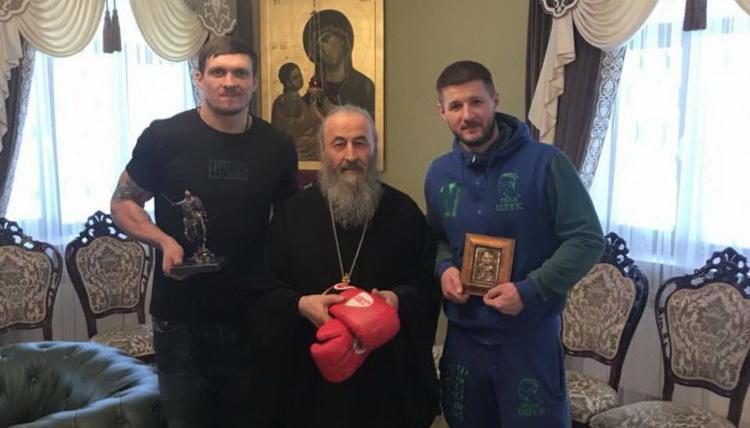 Абсолютный чемпион мира по боксу Александр Усик: «Если пойдут захватывать Лавру, я стану на сторону монахов» (12.12.18)