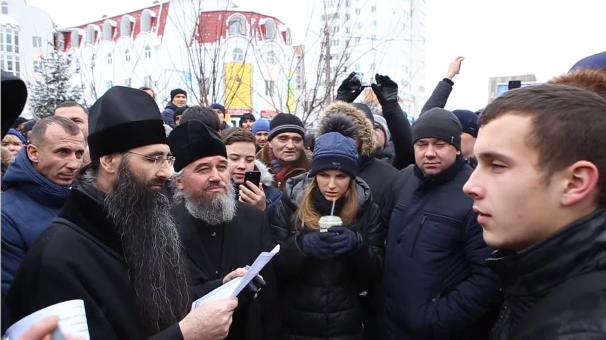 Винничане и одесситы сорвали акцию «Правого сектора» возле православных храмов (06.01.19)