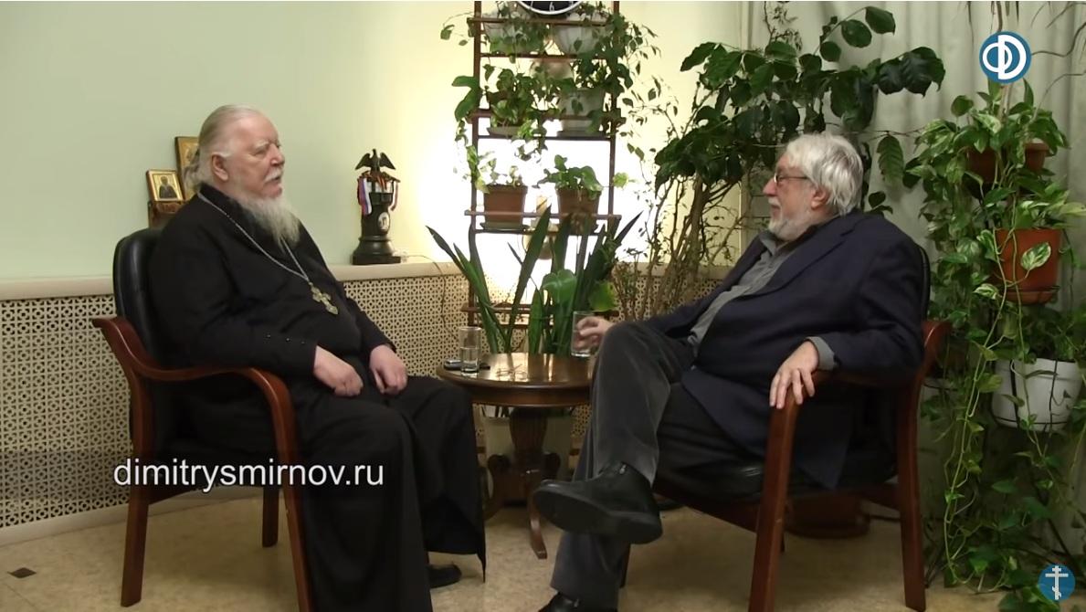 Протоиерей Димитрий Смирнов: «Жизнь продолжается рассудку вопреки. Третий диалог под часами с Юрием Кублановским» (11.03.19)