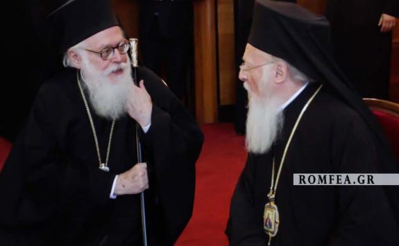 Блаженнейший Архиепископ Тиранский и всей Албании Анастасий: «Согласно православной традиции, кризисы преодолеваются при помощи соборности» (30.03.19)