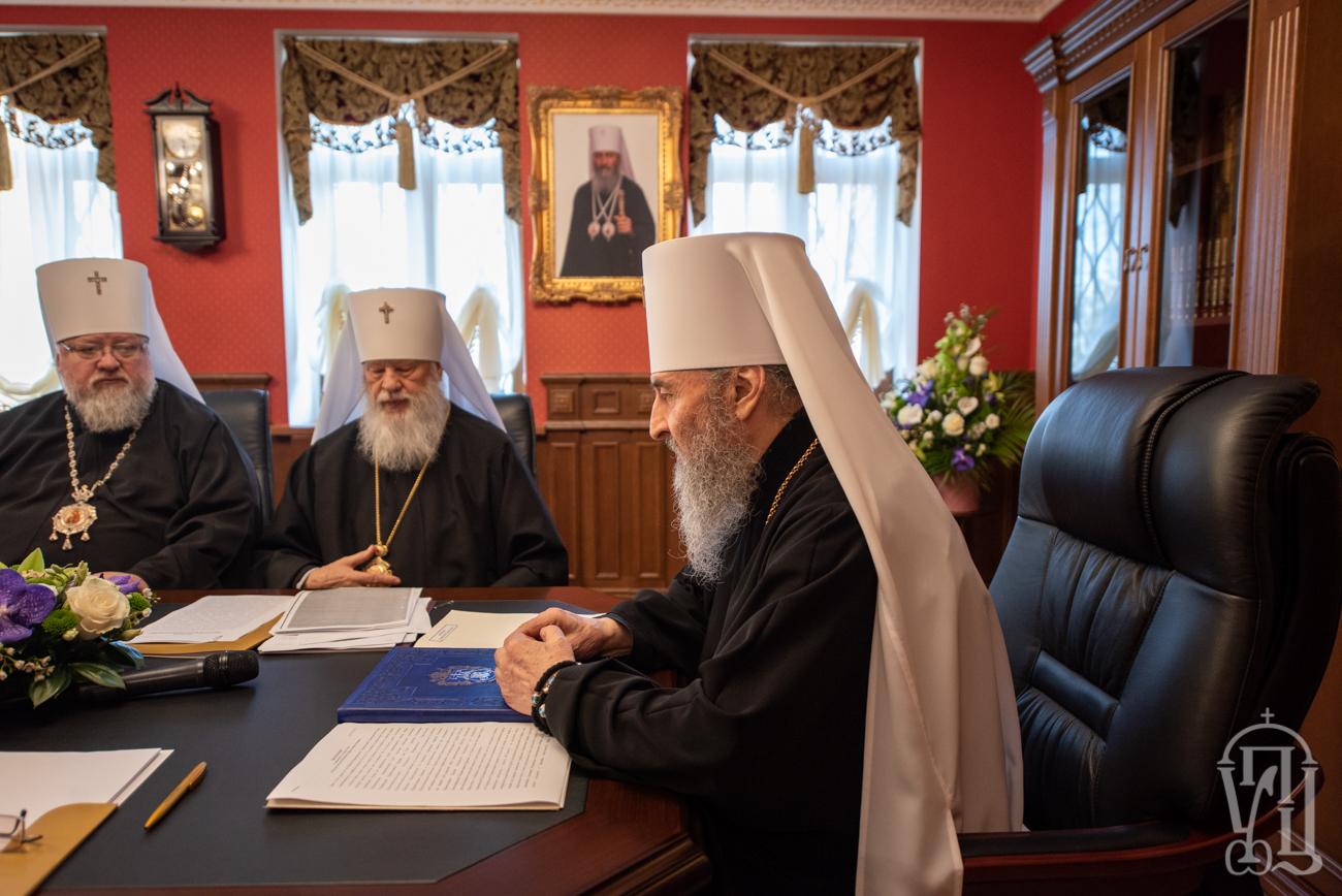 Заявление Священного Синода Украинской Православной Церкви о ситуации в украинском и мировом Православии (03.04.19)