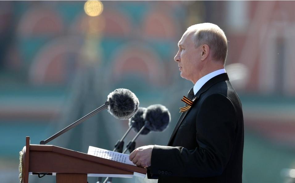 Владимир Путин: «75 лет Великой Победы: общая ответственность перед историей и будущим» (19.06.20)