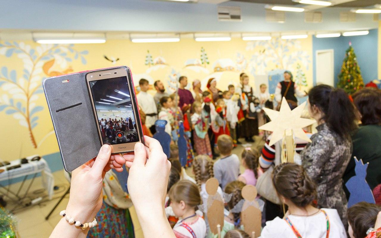 #РусскоеПолеФотоДня: Светлица. Открытие Рождественских мастерских. (04.12.16)